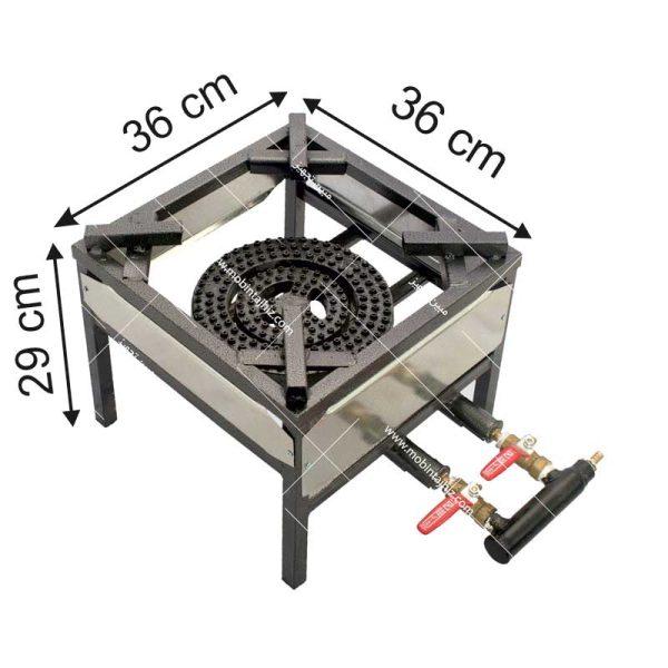 اجاق-گاز-دوشعله-متوسط-پروفیلی