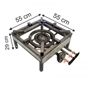 اجاق-گاز-سه-شعله-کوچک-پروفیلی-کوره-دار
