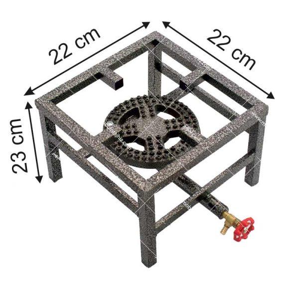 اجاق-گاز-تک-شعله-۱۴-پروفیلی