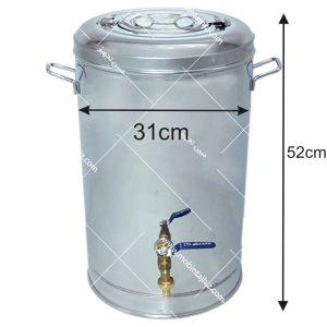 فلاکس-استیل-۲۰-لیتری