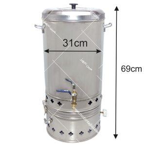 سماور-گازی-ترموکوبل-دار-۳۰-لیتری-