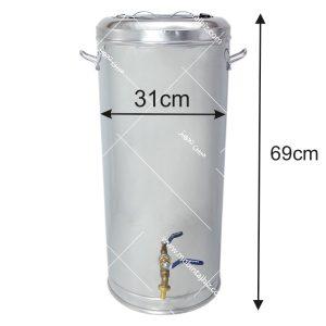 فلاکس-استیل-۳۰-لیتری